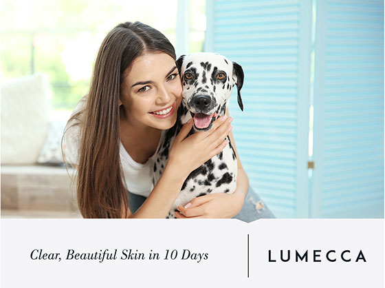 Lumecca Promotional image - Clear, beautiful skin in 10 days